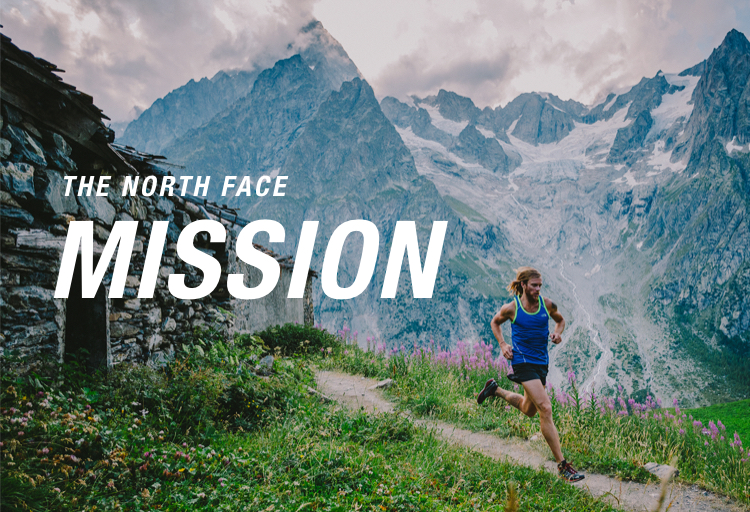 the north face MISSION