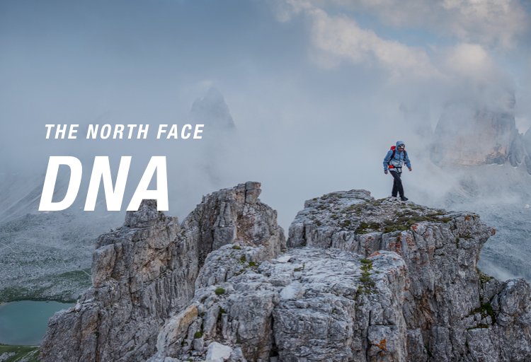 the north face DNA